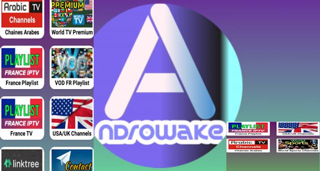 تطبيق  Androwakeلمشاهدة قنوات بي ان سبورت والعالية الاجنبية مجاناً على اندرويد.