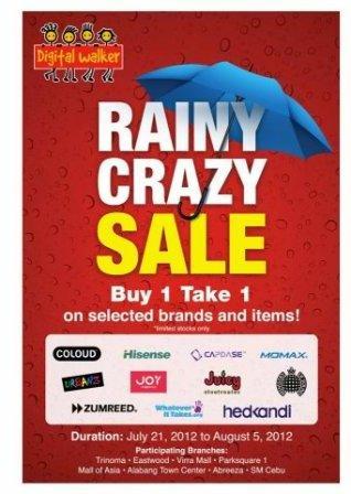 426485916f6c37 Digital Walker s Rainy Crazy SALE July-Aug 2012