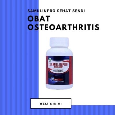 Obat Osteoarthitis