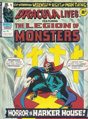 Marvel UK, Dracula Lives #70