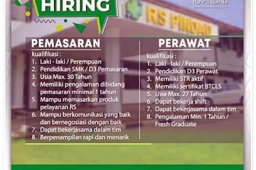 Lowongan Kerja Karyawan RS Pindad Bandung