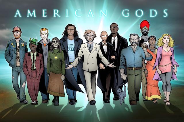 Resultado de imagem para deuses americanos novos deuses