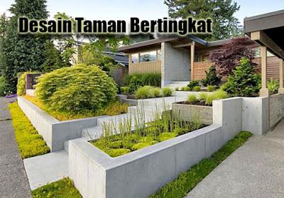 Desain Taman Bertingkat