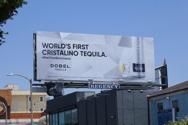 Cristalino Tequila Dobel billboard
