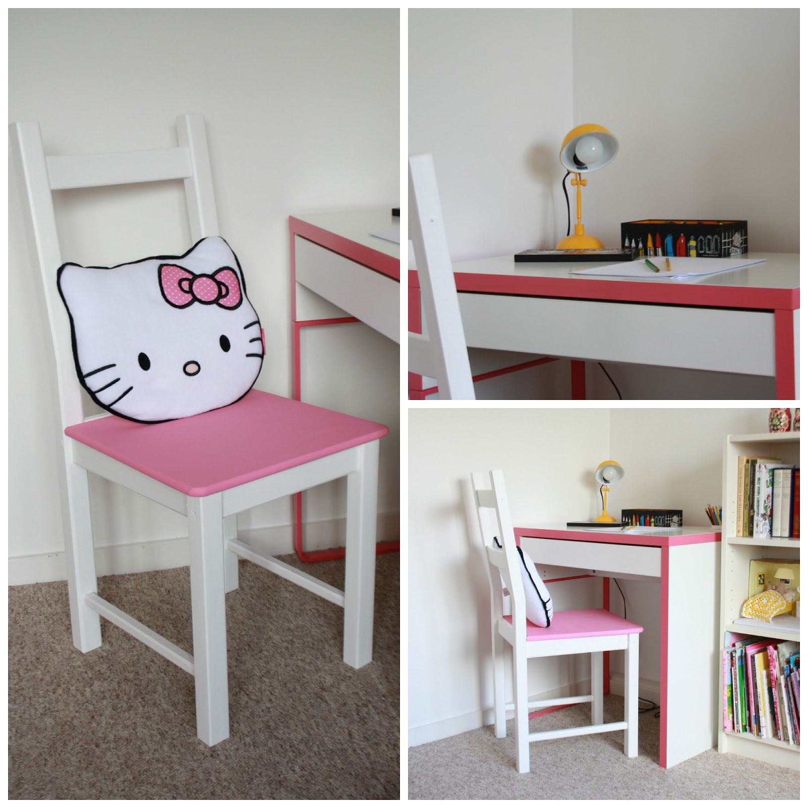 Hello Kitty Desk Chair Outdoor Wicker Rocking Chairs Home Decorating Excellence