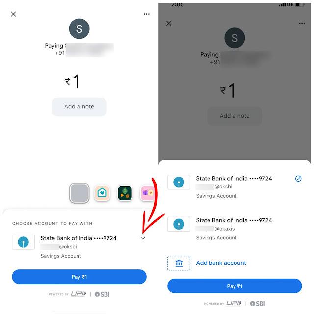 Change payment UPI ID