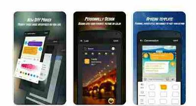 Aplikasi Tema SMS GO SMS Theme DIY