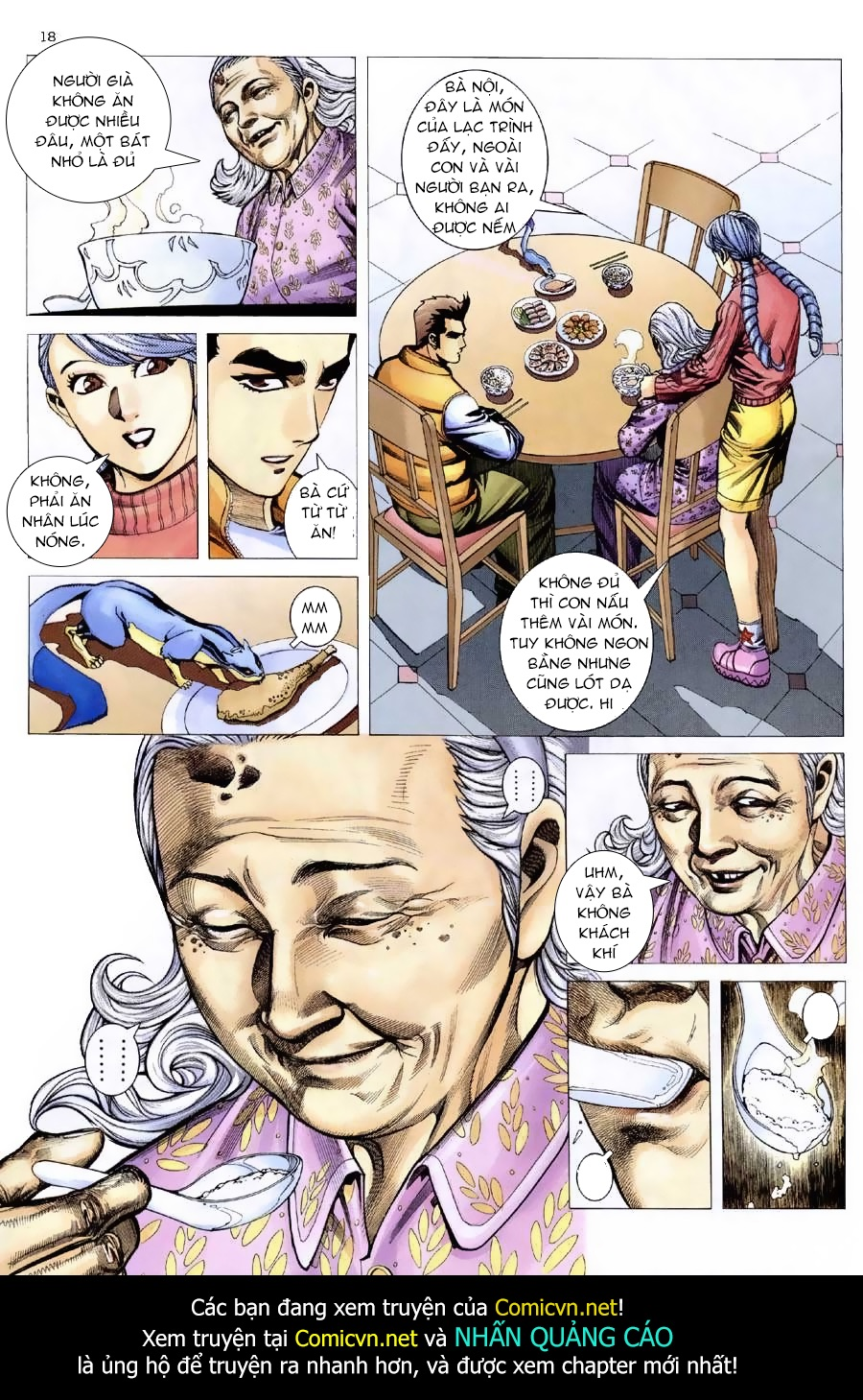 Xích Trụ Phạn Đường chap 9 - Trang 17