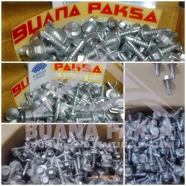 Harga Baja Ringan Murah Depok Jual Pabrik Distributor Screw Mur Baut Skrup ...