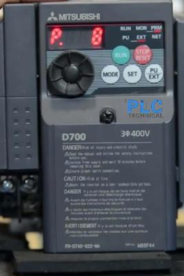 Parameter P8 Mitsubishi D700