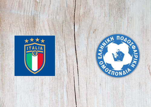 Italy vs Greece -Highlights 12 October 2019