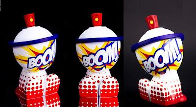 BOOM Canbot Vinyl Figure by Sket One x Czee13 x Clutter x NTWRK