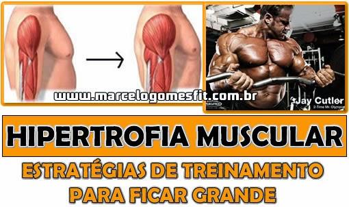 Hipertrofia Muscular - Estratégias de treinamento para ficar grande