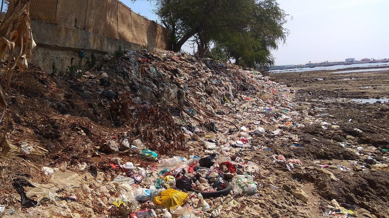 Sampah di Pesisir Lamongan