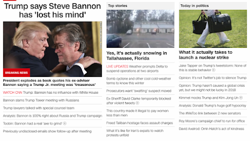 44 52   Trump says Steve Bannon has lost his mind (But Bannon was Trump's brain...), January 3, 2018...
