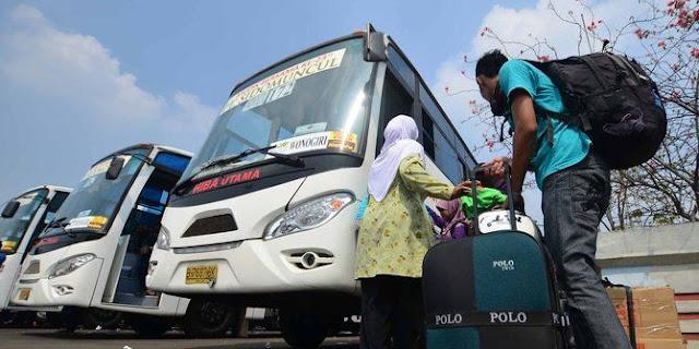Sopir Bus Terminal Kalideres, Dibuat Susah dengan Larangan Mudik Lebaran