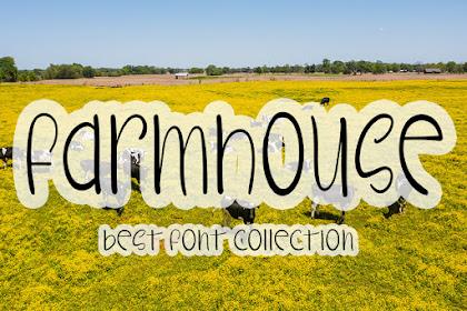 Farmhouse - Best Farm Font for your business