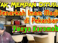 Inilah Karomah Imam Masjid di Pekanbaru Saat Ditusuk Orang Stress