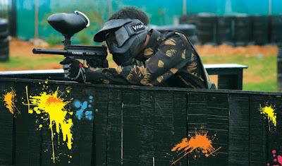 Strategi Perang dalam Permainan Paintball