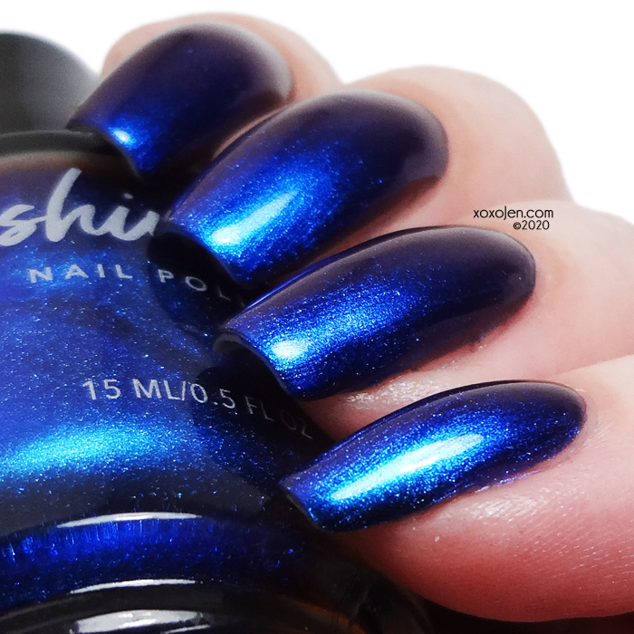 xoxoJen's swatch of KBShimmer Dragon On And On