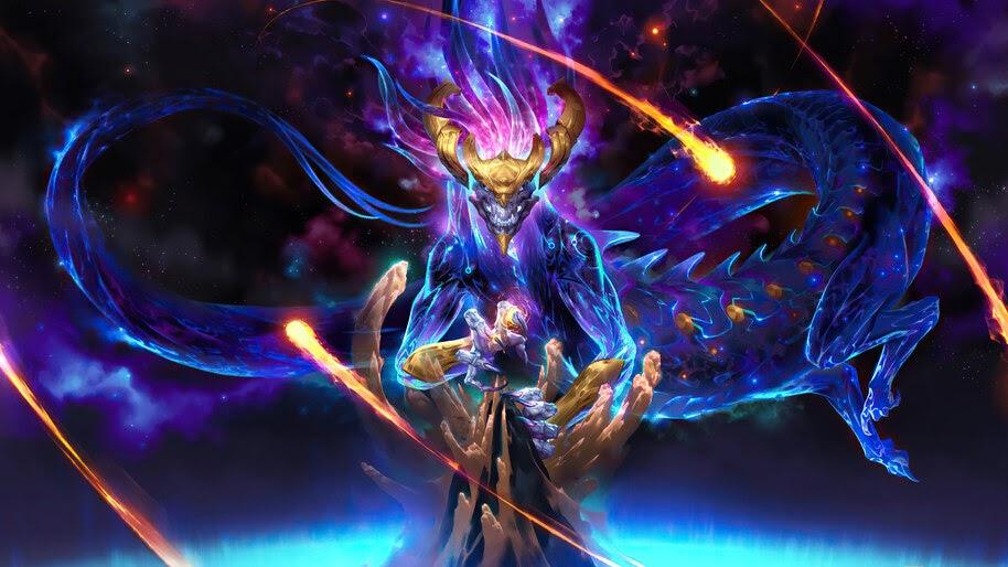 Aurelion Sol, LoL, Targon, Celestial, Legends of Runeterra, 4K, #5.2713