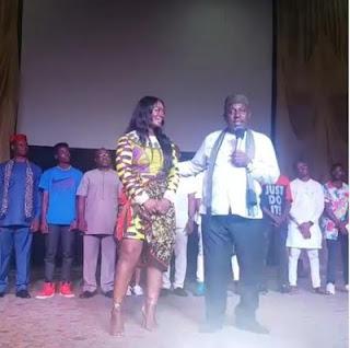 Imo State Governor Rochas Okorocha Crowns Ex- BBNaija House Mate Ambassador Of Imo Carnival 2