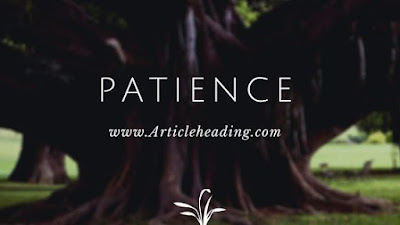 Values of Patience
