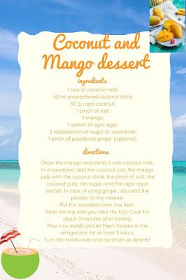 vegan glutenfree mango coconut