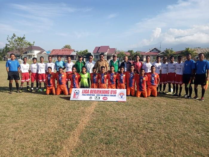 Menyemarakkan Dunia Spekabola, Kompetisi U-16 di Sulteng Digelar Kemenpora