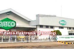 Lowongan Kerja PT Patco Elektronik Teknologi Cikarang