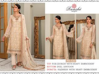 Ramsha vol 14 Pakistani Suits catalog wholesaler