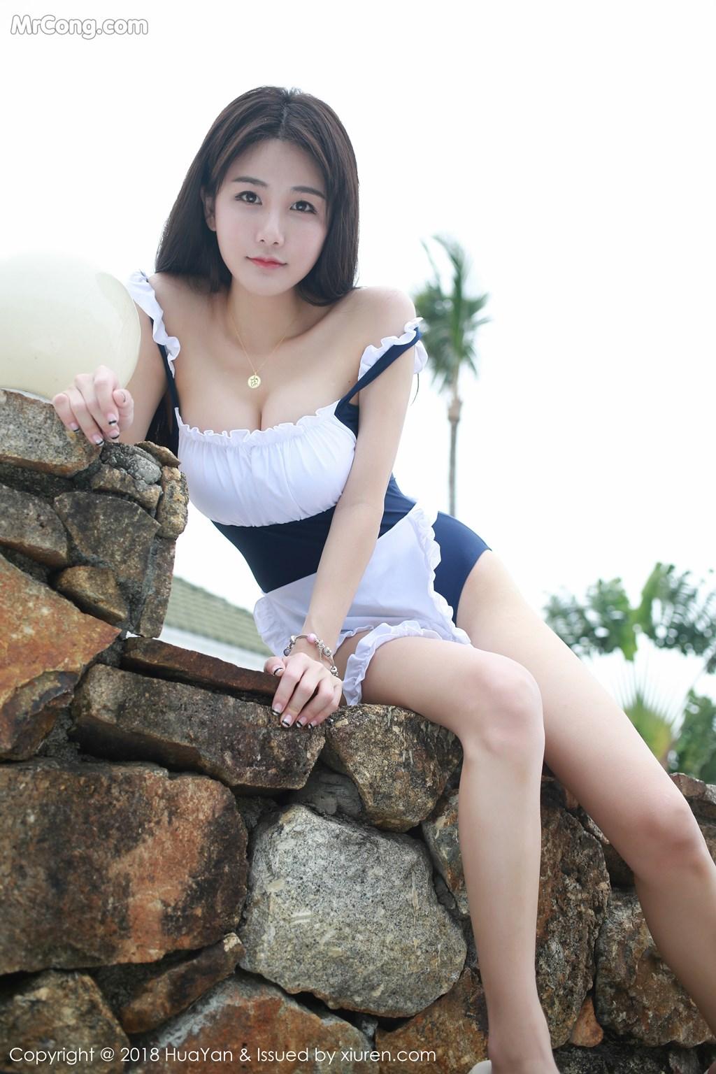Image HuaYan-Vol.057-Xiao-Mo-Lin-MrCong.com-025 in post HuaYan Vol.057: Người mẫu Xiao Mo Lin (小沫琳) (41 ảnh)