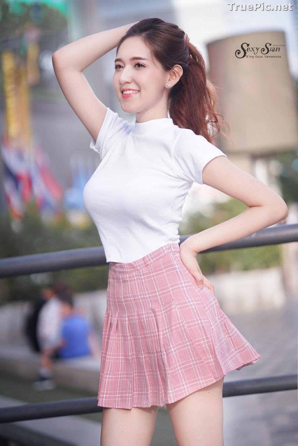 Image Thailand Model - Jarunya Boonya - Pink Love Love Love - TruePic.net - Picture-2