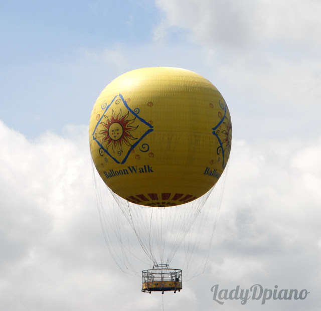 vast yellow air balloon