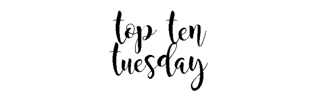 Top Ten Tuesday: Diez libros que quisiste leer en el 2017 Pero al final no lo hiciste