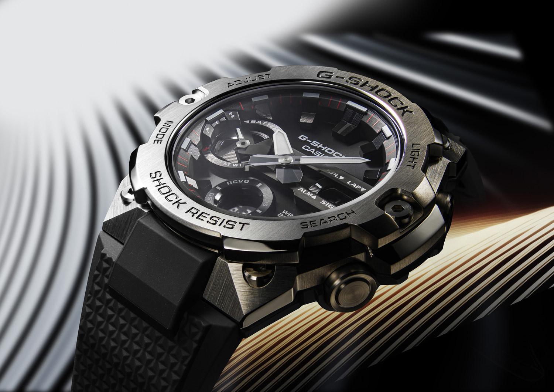 New design slim steel watches from Casio G--SHOCK