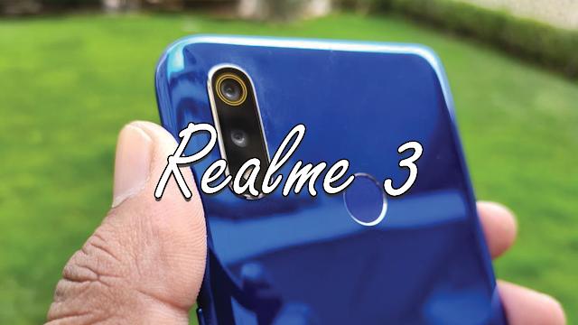 سعر ومواصفات هاتف ريلمي 3