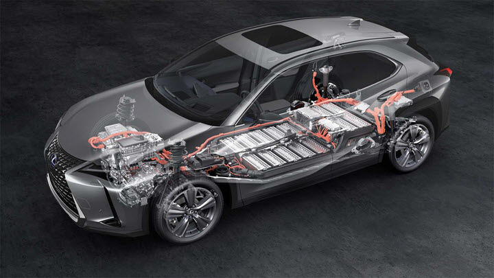 Xe điện đầu tiên của Lexus giá từ 51.200 USD