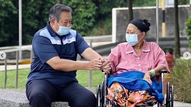 Wajah SBY Tak Mampu Menahan Kesedihan Ditinggal Istri Tercinta, Ani Yudhoyono