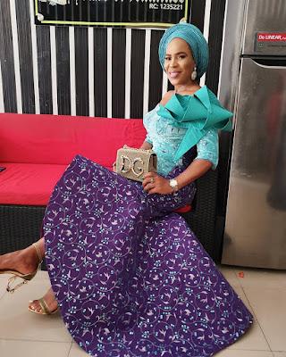 Faithia Balogun Aso ebi styles