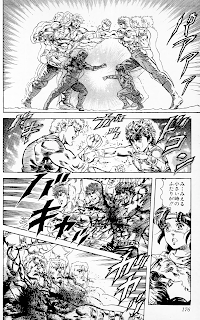 Reseña de El Puño de la Estrella del Norte (Hokuto no Ken) vol. 10 de Buronson y Tetsuo Hara.