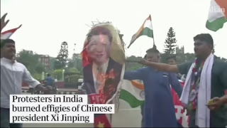 What is the fatal border dispute between India and China?