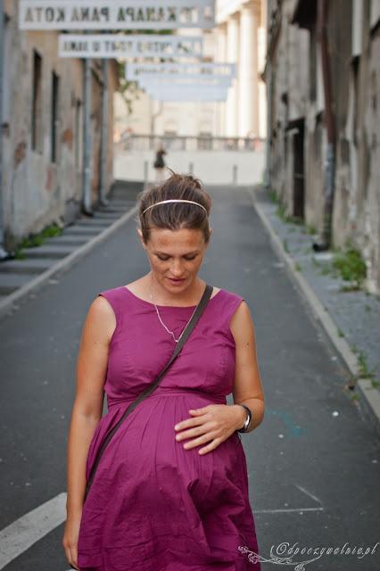 letnia ciąża jak się ubierać, końcówka ciąży, upał w ciąży, stylizacje ciążowe