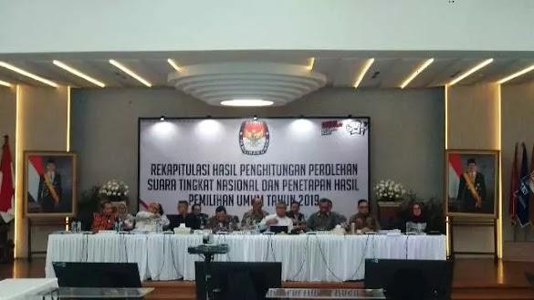 Saksi BPN Prabowo-Sandi Tolak Penetapan KPU RI
