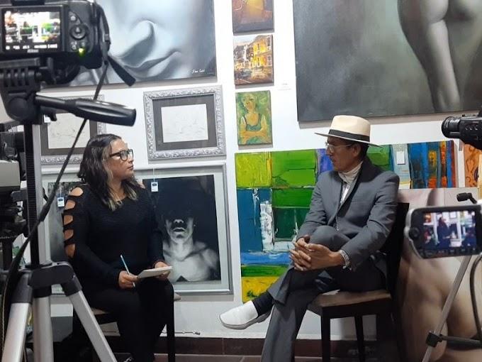 Cultura e arte mexicana sofrem abandono, diz muralista Ernesto Ríos