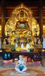 La Pagoda Bai Dinh. Tam The Temple.