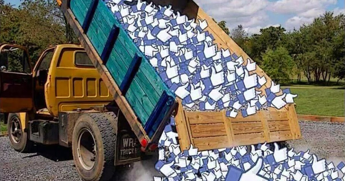 Welcome Facebook LIKES ~ a Truck Load