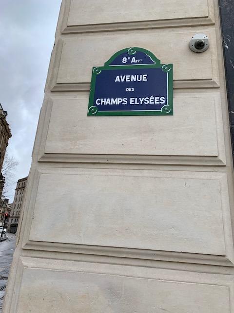 venue des Champs Elysee