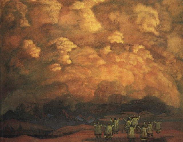 Николай Рерих - Веления неба. 1915