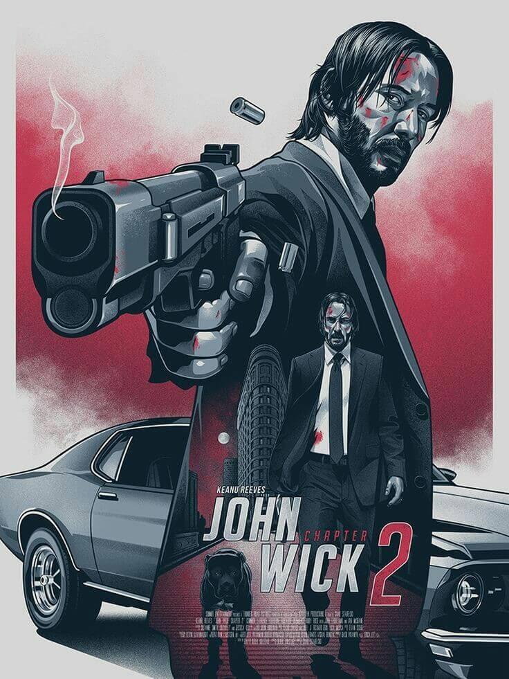 Nonton Film John Wick Chapter 2 2017 Subtitle Indonesia Too Film